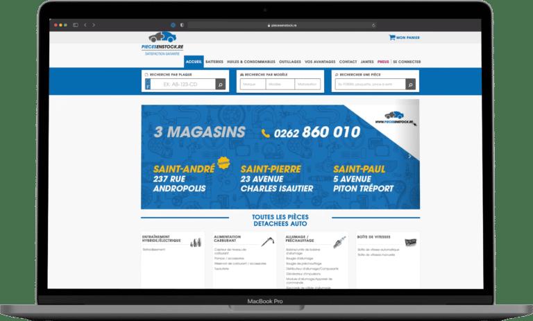 Carooline - E-commerce - Piecesenstock